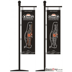 OmG Aluminum Flag