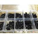 Screw set 200pcs (Black)