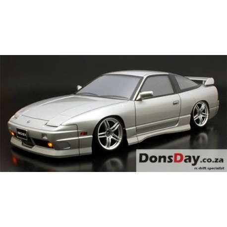 ABC Hobby NISSAN 180SX 195mm Body Set For 1/10 RC Tourning Drift