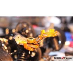 Usukani Rear Aluminium alloy adjustable invisible body post/combo/2pcs/Gold