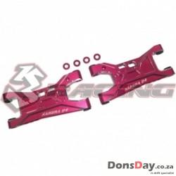 3Racing Aluminum Rear Lower Suspension for Sakura D4 AWD RWD 2Pcs