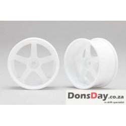 Yokomo Racing Performer Drinft wheel 5 spoke (8mm Off set/White) 4pcs