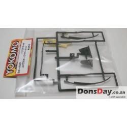 Yokomo Aero mirror and wiper set