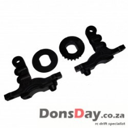 D4 Bulkhead cover 10 degree and 20T pulley