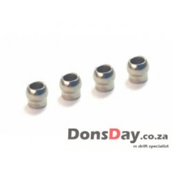 3Racing D4 5mm Pivot Ball 4pcs